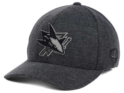 San Jose Sharks Old Time Hockey NHL Jagged Flex Cap