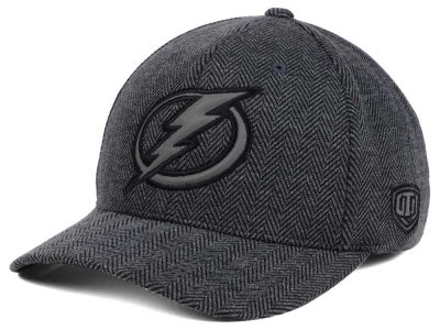 Tampa Bay Lightning Old Time Hockey NHL Jagged Flex Cap