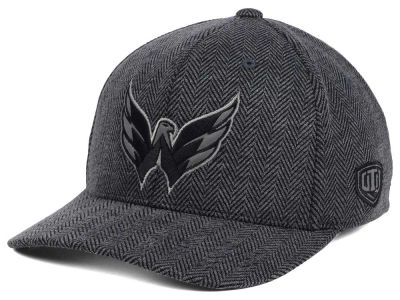 Washington Capitals Old Time Hockey NHL Jagged Flex Cap