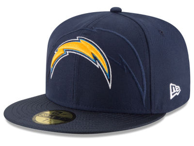 Los Angeles Chargers New Era 2016 Official NFL Sideline 59FIFTY Cap