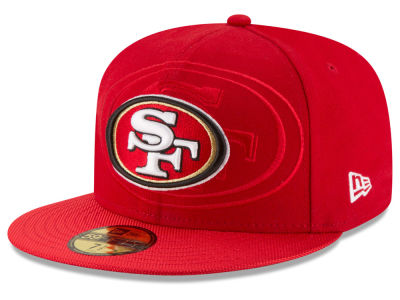 San Francisco 49ers New Era 2016 Official NFL Sideline 59FIFTY Cap