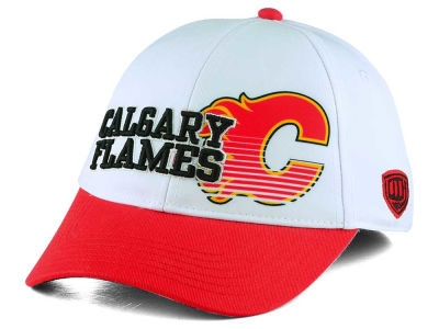 Calgary Flames Old Time Hockey NHL Youth Chalk Snapback Cap