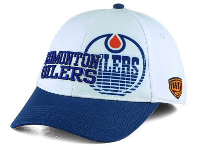 Edmonton Oilers Old Time Hockey NHL Youth Chalk Snapback Cap