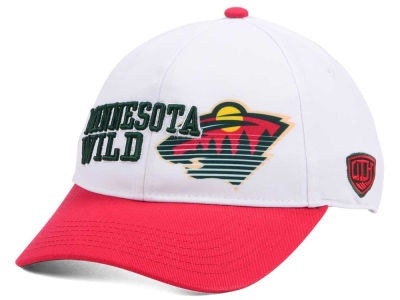 Minnesota Wild Old Time Hockey NHL Youth Chalk Snapback Cap