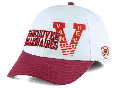 Vancouver Millionaires Old Time Hockey NHL Youth Chalk Snapback Cap