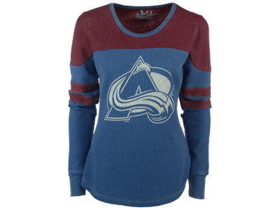 Colorado Avalanche GIII NHL Women's Hat Trick Thermal Long Sleeve T-Shirt