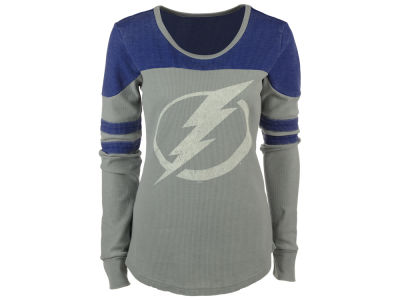 Tampa Bay Lightning G-III Sports NHL Women's Hat Trick Thermal Long Sleeve T-Shirt