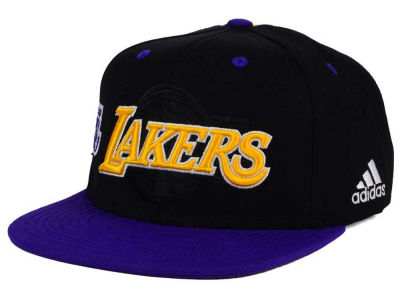 Los Angeles Lakers adidas 2016 NBA Draft Snapback Cap