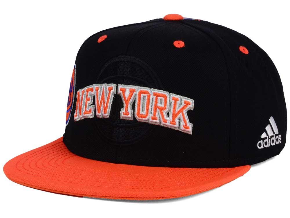 New York Knicks adidas 2016 NBA Draft Snapback Cap  e35ff90d2de