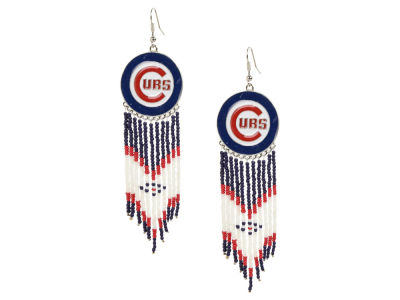 Chicago Cubs Dreamcatcher Earrings