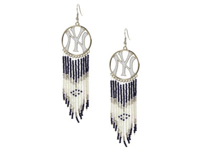 New York Yankees Dreamcatcher Earrings