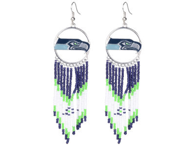 Seattle Seahawks Dreamcatcher Earrings