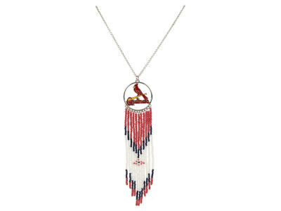 St. Louis Cardinals Dreamcatcher Necklace