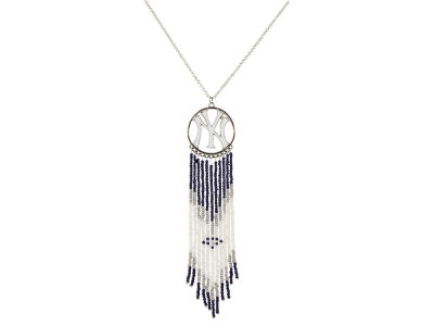 New York Yankees Dreamcatcher Necklace