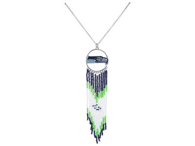 Seattle Seahawks Dreamcatcher Necklace