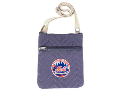 New York Mets Chevy-Stitch Cross Body Bag