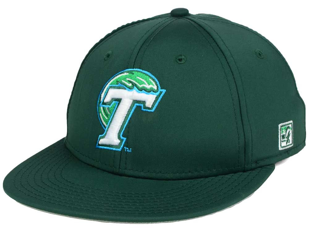 Tulane Green Wave The Game NCAA Game Fitted On-Field Hat  6051e308099