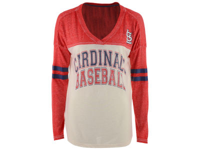 St. Louis Cardinals GIII MLB Women's Field Position Long Sleeve T-Shirt