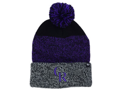 Colorado Rockies '47 MLB Static Pom Knit