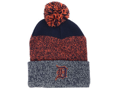 Detroit Tigers '47 MLB Static Pom Knit