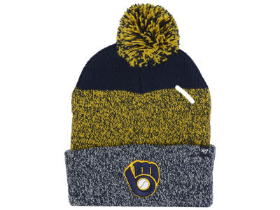 Milwaukee Brewers '47 MLB Static Pom Knit