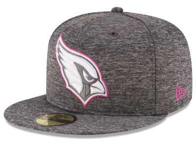 Arizona Cardinals New Era NFL Breast Cancer Awareness Official 59FIFTY Cap