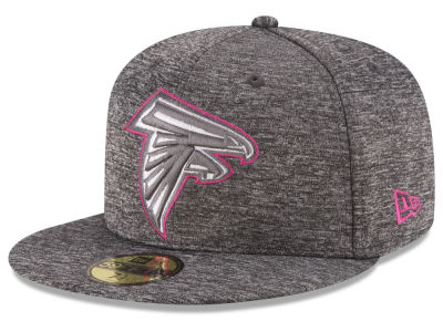 Atlanta Falcons New Era NFL Breast Cancer Awareness Official 59FIFTY Cap