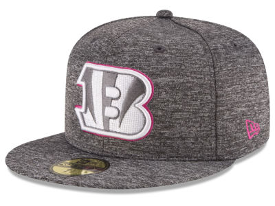 Cincinnati Bengals New Era NFL Breast Cancer Awareness Official 59FIFTY Cap