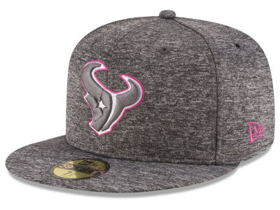 Houston Texans New Era NFL Breast Cancer Awareness Official 59FIFTY Cap
