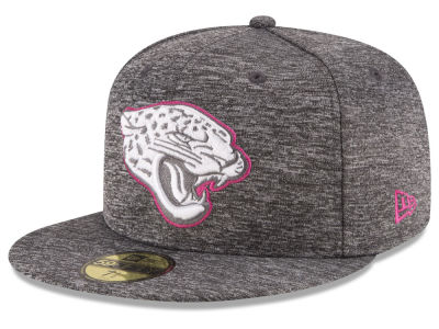 Jacksonville Jaguars New Era NFL Breast Cancer Awareness Official 59FIFTY Cap