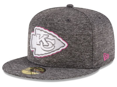 Kansas City Chiefs New Era NFL Breast Cancer Awareness Official 59FIFTY Cap