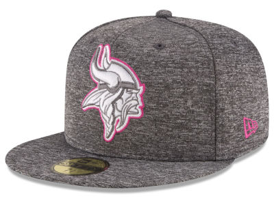 Minnesota Vikings New Era NFL Breast Cancer Awareness Official 59FIFTY Cap