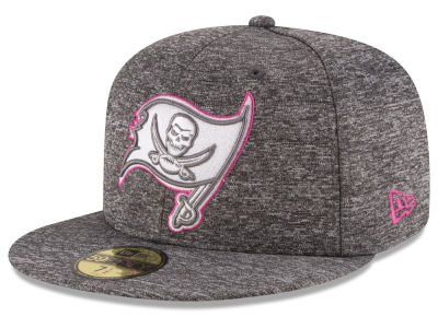 Tampa Bay Buccaneers New Era NFL Breast Cancer Awareness Official 59FIFTY Cap