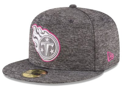 Tennessee Titans New Era NFL Breast Cancer Awareness Official 59FIFTY Cap