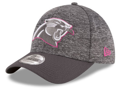 Carolina Panthers New Era NFL Breast cancer Awareness Official 39THIRTY Cap