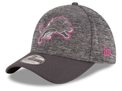Detroit Lions New Era NFL Breast cancer Awareness Official 39THIRTY Cap