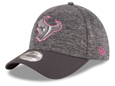 Houston Texans New Era NFL Breast cancer Awareness Official 39THIRTY Cap
