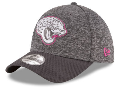 Jacksonville Jaguars New Era NFL Breast cancer Awareness Official 39THIRTY Cap