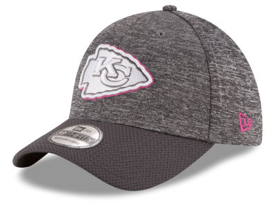 Kansas City Chiefs New Era NFL Breast cancer Awareness Official 39THIRTY Cap