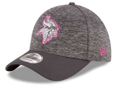Minnesota Vikings New Era NFL Breast cancer Awareness Official 39THIRTY Cap