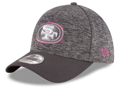 San Francisco 49ers New Era NFL Breast cancer Awareness Official 39THIRTY Cap