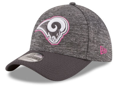 Los Angeles Rams New Era NFL Breast cancer Awareness Official 39THIRTY Cap