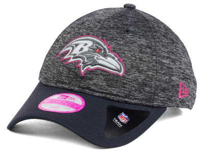 Baltimore Ravens New Era NFL Women's Breast Cancer Awareness 9TWENTY Cap