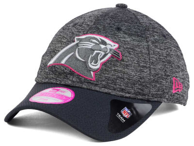 Carolina Panthers New Era NFL Women's Breast Cancer Awareness 9TWENTY Cap