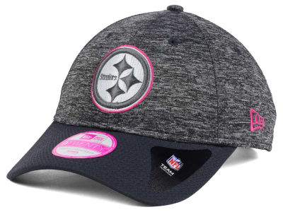 Pittsburgh Steelers New Era NFL Women's Breast Cancer Awareness 9TWENTY Cap
