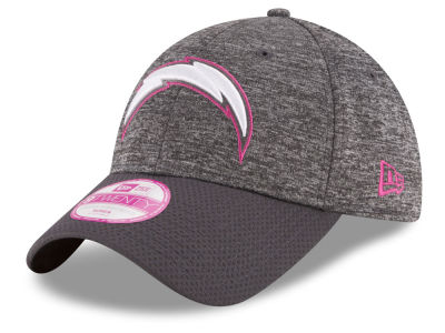 Los Angeles Chargers New Era NFL Women's Breast Cancer Awareness 9TWENTY Cap
