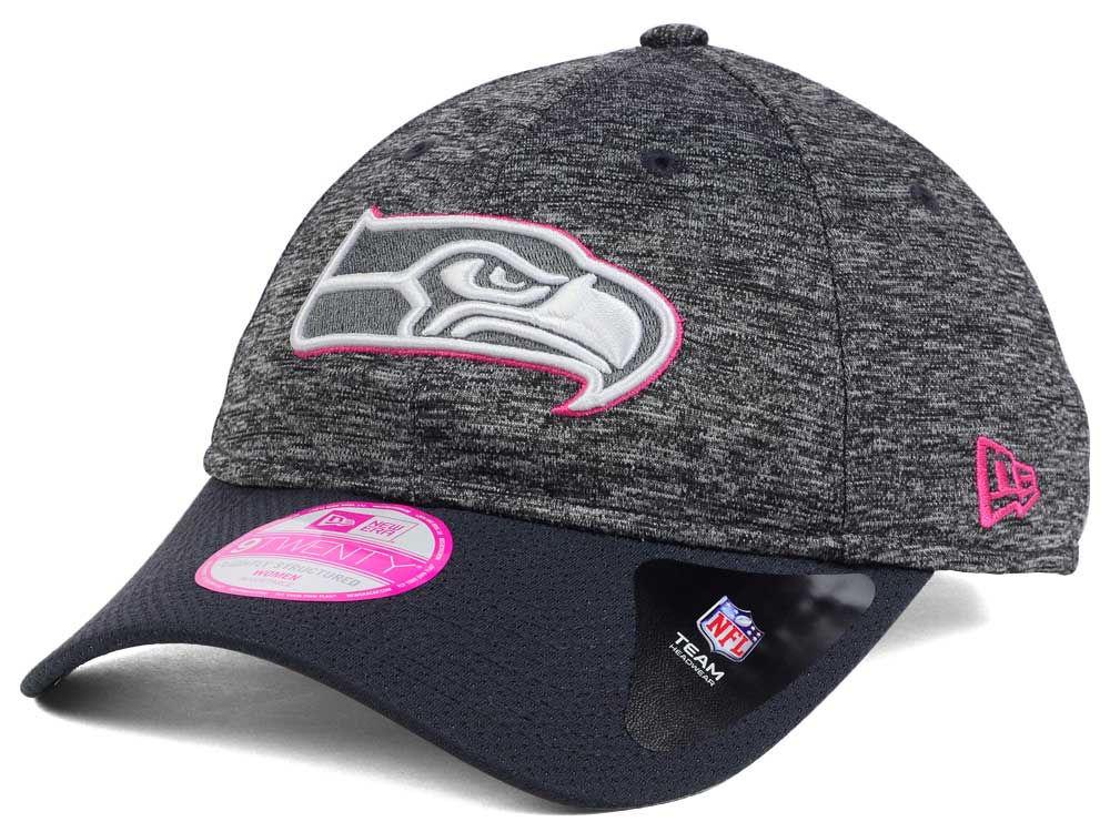 Seattle Seahawks New Era NFL Women s Breast Cancer Awareness 9TWENTY Cap  2a724e7cdb
