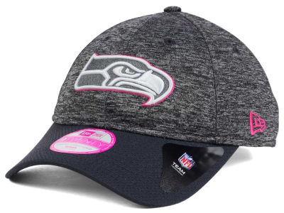Seattle Seahawks New Era NFL Women's Breast Cancer Awareness 9TWENTY Cap
