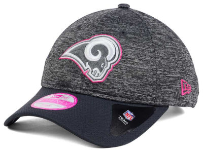 Los Angeles Rams New Era NFL Women's Breast Cancer Awareness 9TWENTY Cap