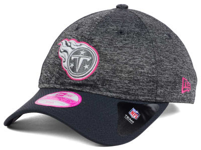 Tennessee Titans New Era NFL Women's Breast Cancer Awareness 9TWENTY Cap